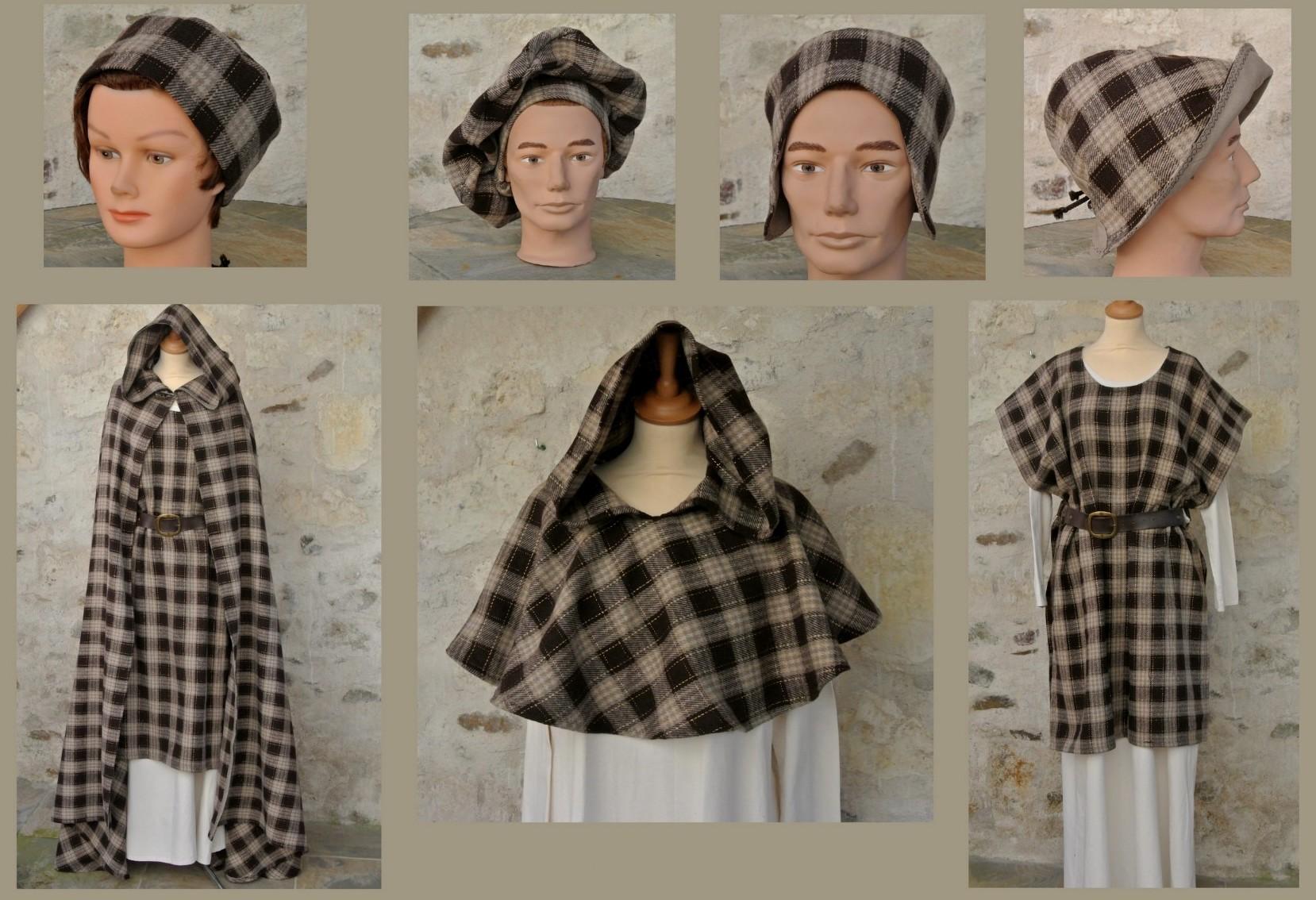 Costumes médiévales écossai