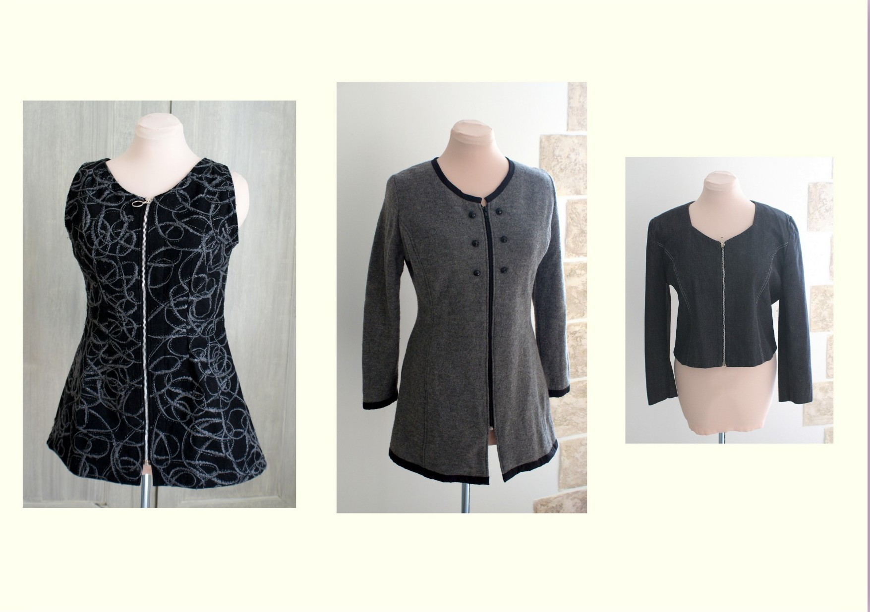 Tuniques et veste