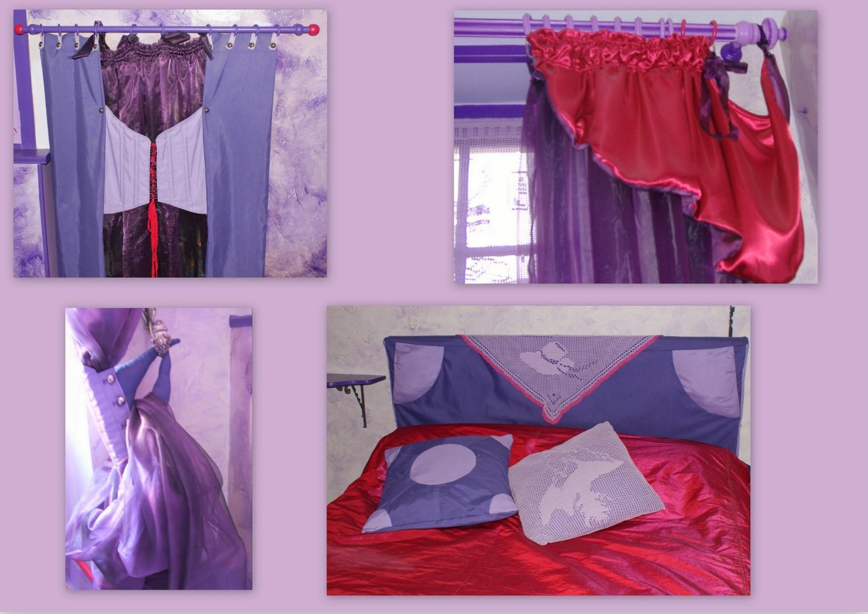 Ambiance rose / violette