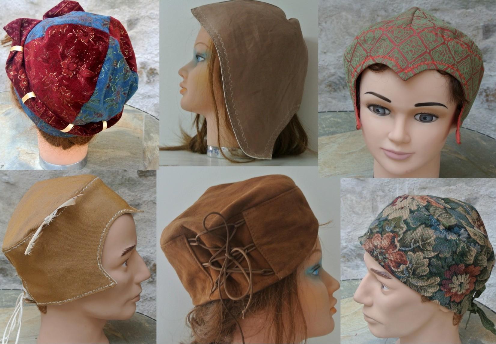 Chapeaux médiévaux