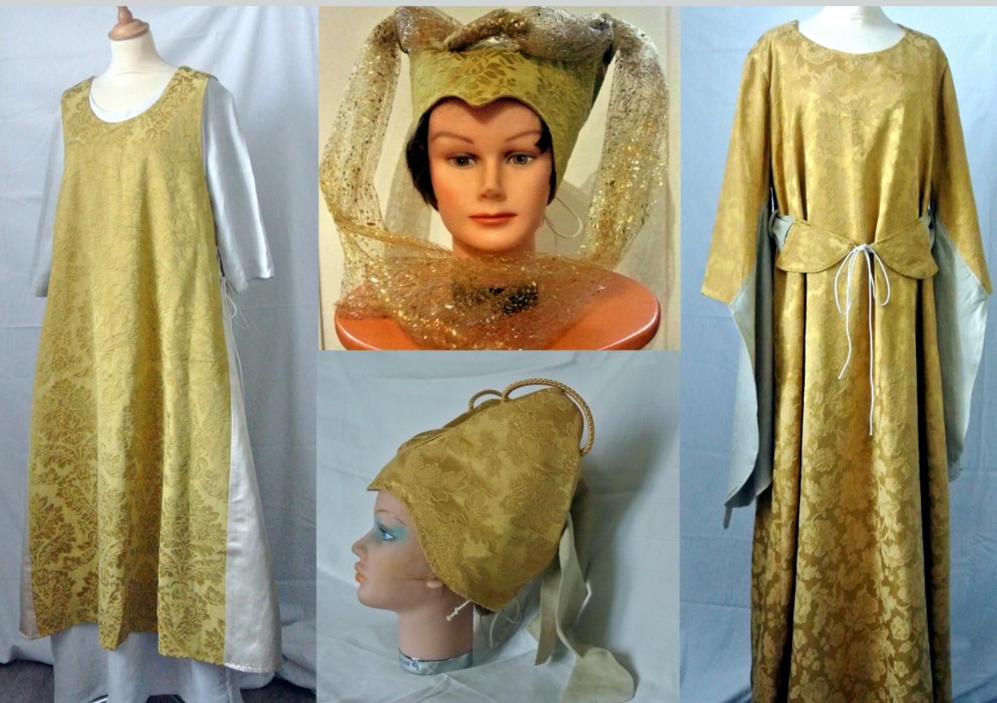 Robe et sur robe médiévales