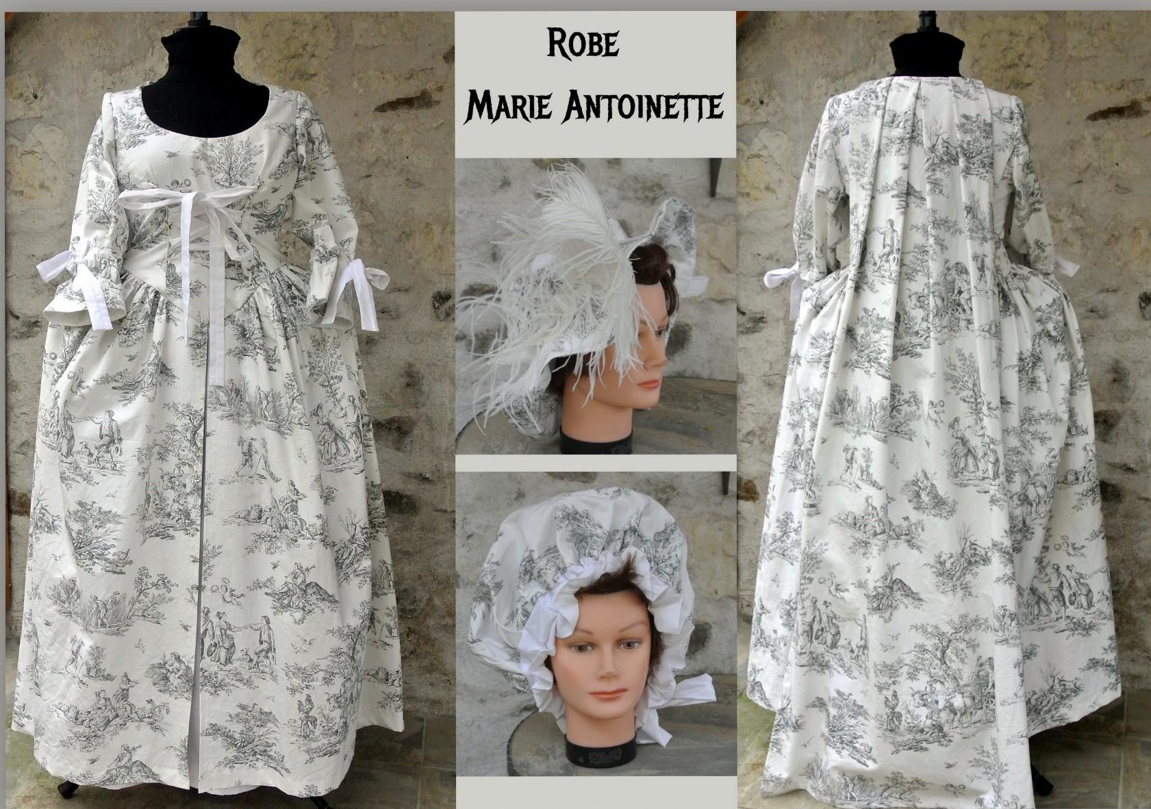 Robe époque Marie Antoinette