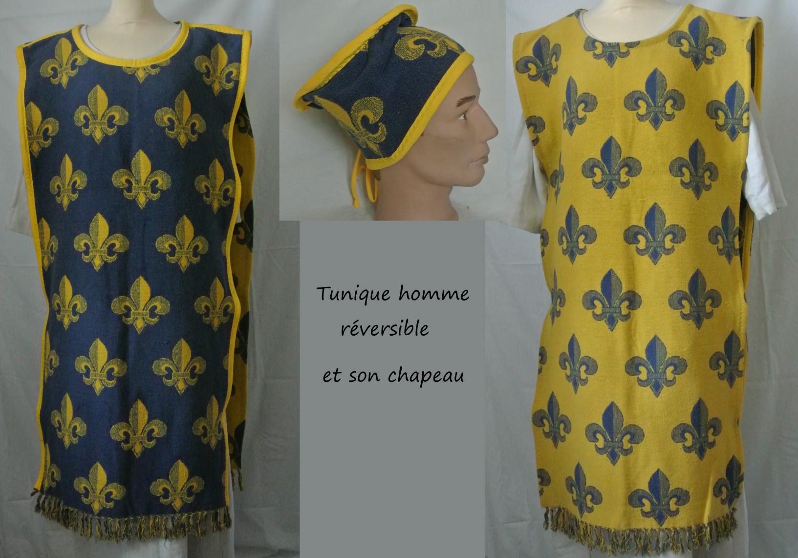 Tunique médiévale pour homme