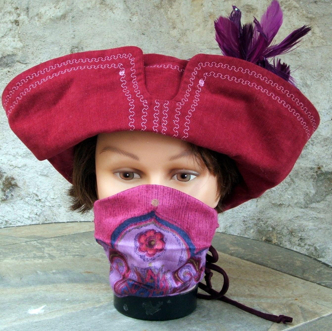 Chapeau de pirate .
