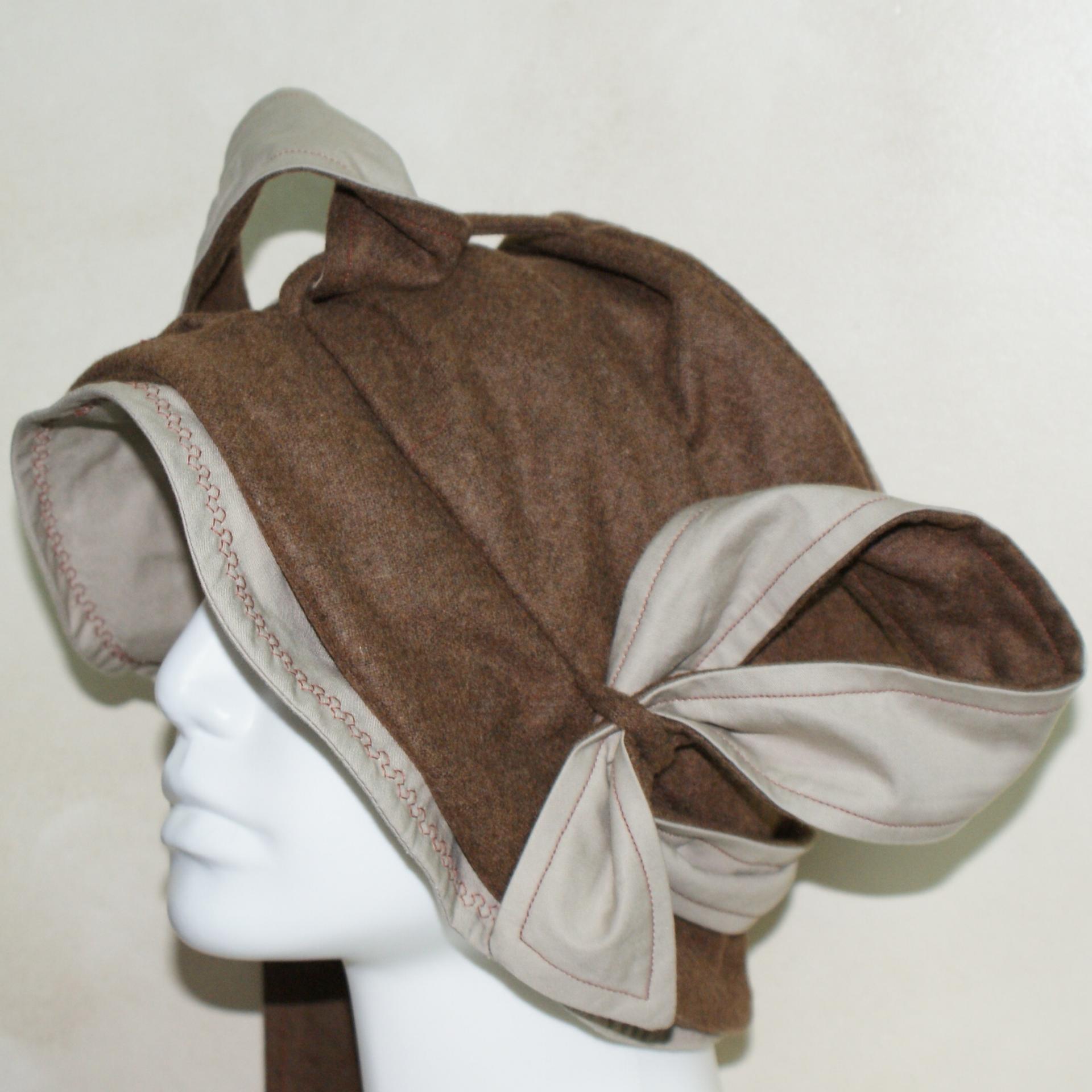 Chapeau en lainage doublé coton