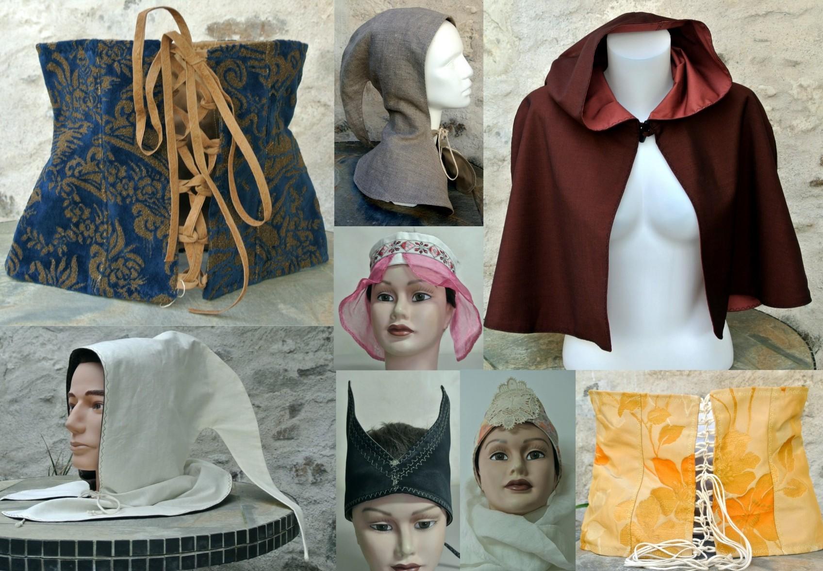 Capes,corsets et bandeaux